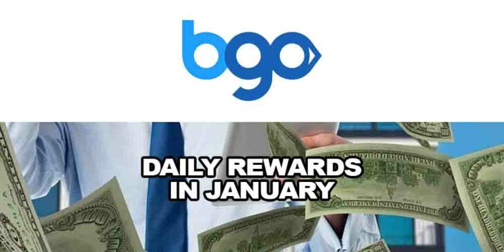 Daily rewards in January