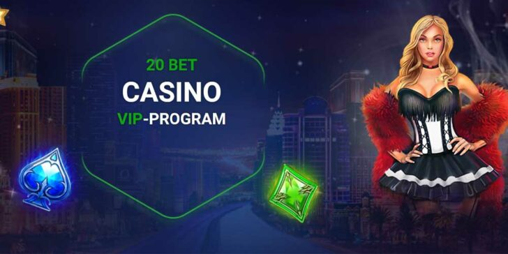 20Bet casino VIP-program