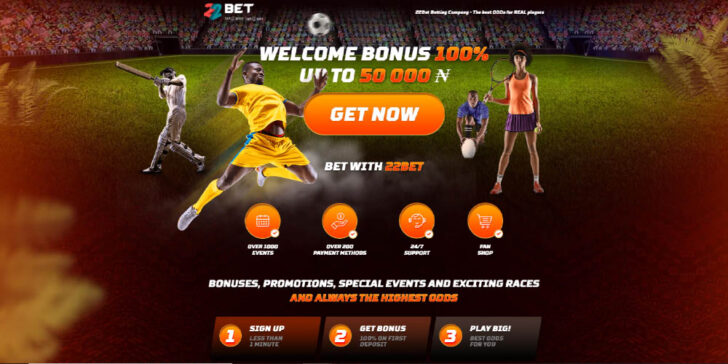 latest review about 22Bet Africa