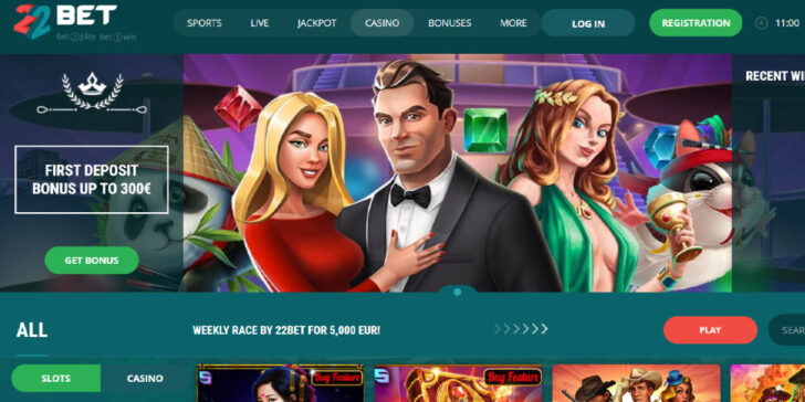 the latest review about 22Bet casino Africa
