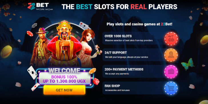 Click here and double your first deposit with 22Bet Casino Africa!