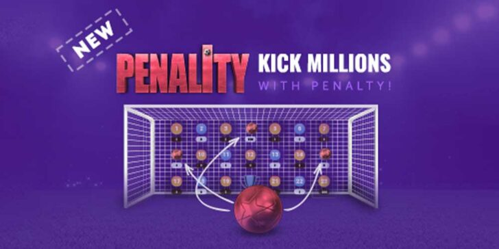Online penalty guessing game