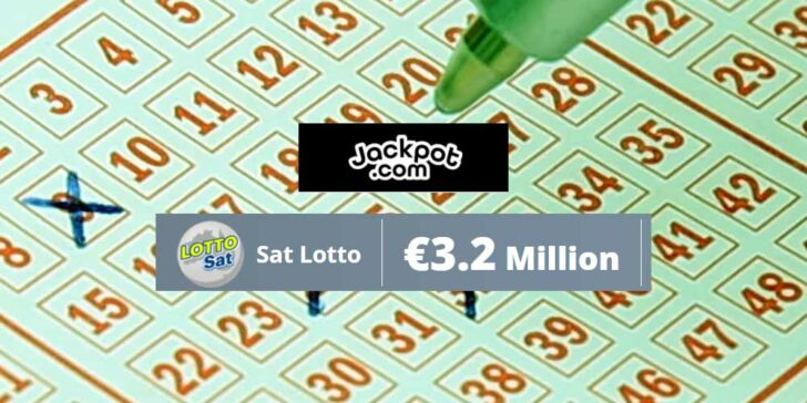 Saturday Lotto Online Purchase: Win Your Share of €3.2 Million Prize Fund