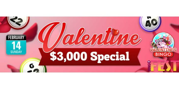 Win cash for Valentine's Day