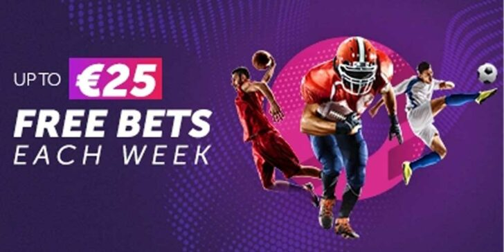 Win free bets every week