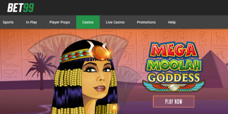 latest review about Bet99 Casino, mega moolah jackpot Canada