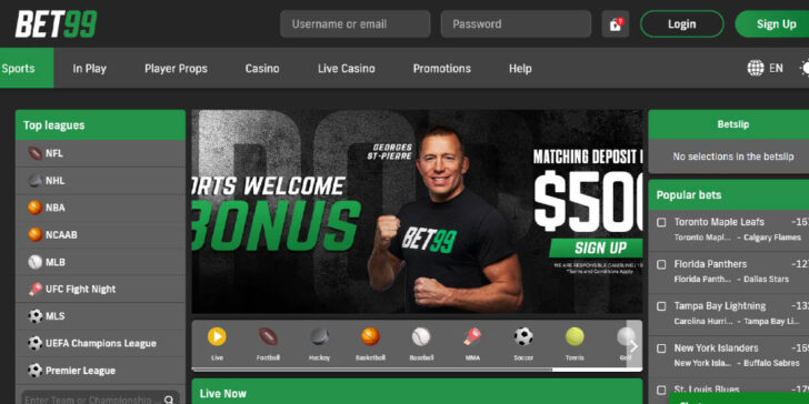 The latest review about Bet99 Sportsbook