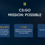 1xbet Sportsbook CSGO Betting Promo: Place Single Bets and Win