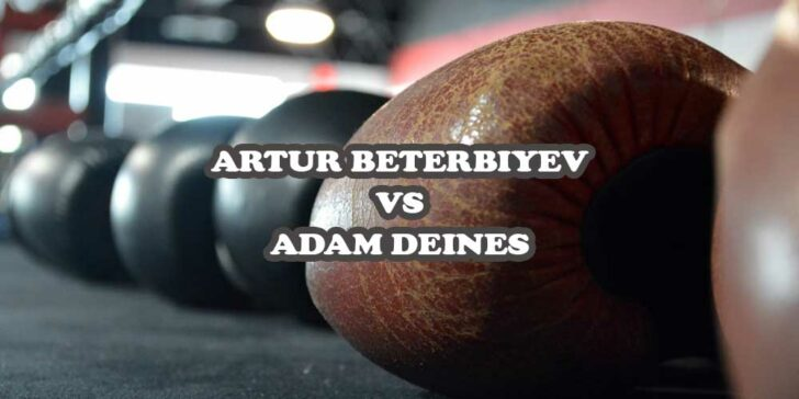 Artur Beterbiyev vs Adam Deines betting odds