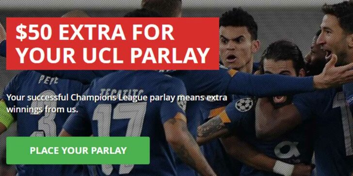 Champions League Parlay Promo