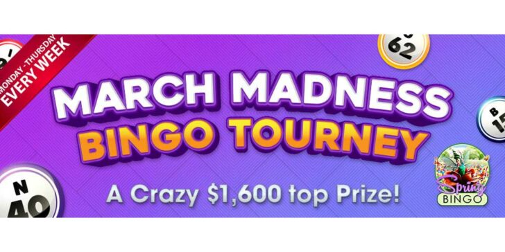 March Madness Bingo Tournaments