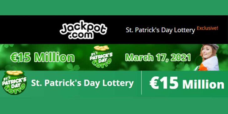 St. Patrick's Day Lottery Bets With Jackpot.com: Take Part and Win