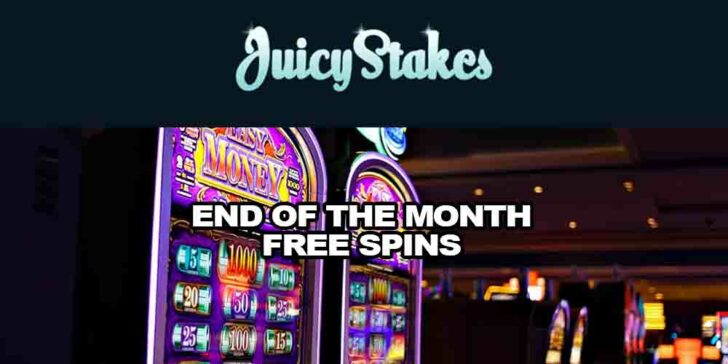 End of the Month Free Spins at Juicy Stakes – Get 75 Free Spins