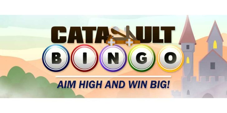 Play Catapult Bingo at CyberBingo – Win up to up to $500.00