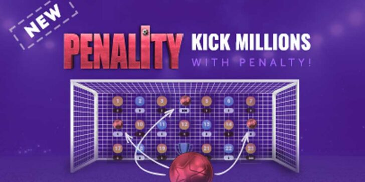Penalty prediction casino game
