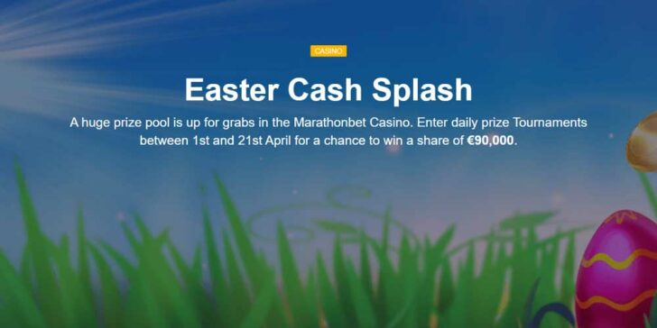 Win Cash on Casino Tournaments: Win a Share of €90,000