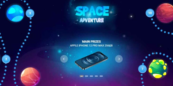 Win iPhone 12 Pro Max or Other Valuable Prizes at 1xBET Casino