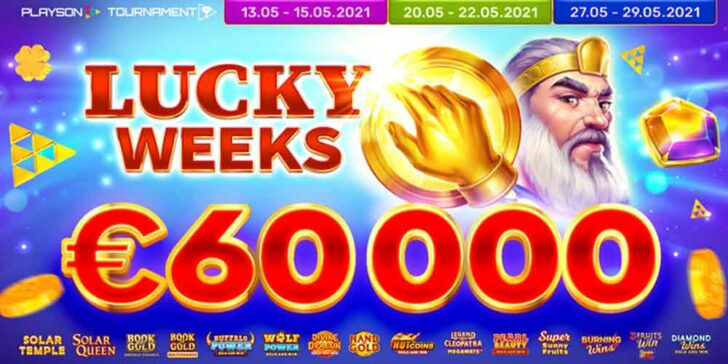 Gunsbet Casino Weekly Cash Prizes – Win a Share of €60.000 Prize Fund