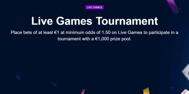 Marathonbet Live Betting Promo: Place Bets of at Least €1 and Win