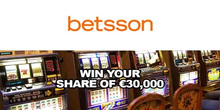Betsson Casino Prize Drops – Win Your Share of €30,000