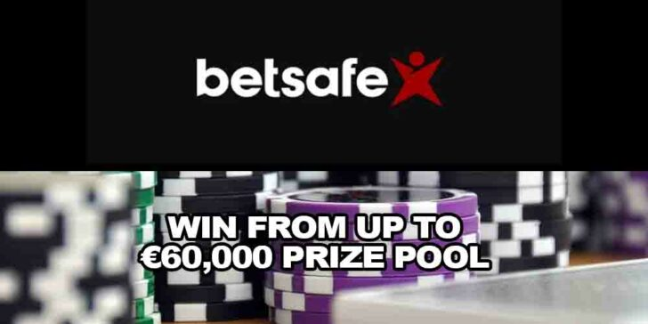 Betsafe Casino Tournaments – Win from up to €60,000 Prize Pool