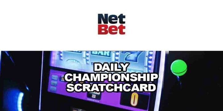 Daily championship scratchcard
