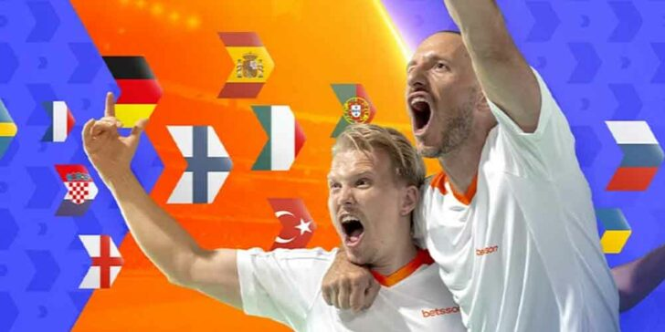 EURO 2020 Free Bets at Betsson Casino – Join €160,000 Free Bets Hunt