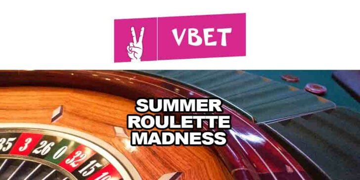 Summer Roulette Madness at Vbet Casino – Win a Share of €10,000