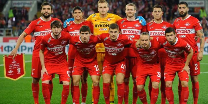 Spartak Moscow UCL Betting Odds