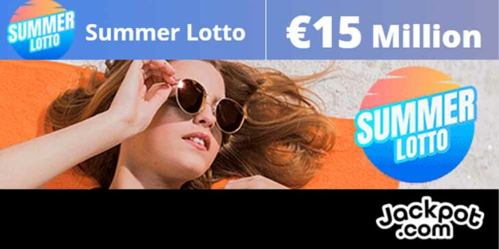 Summer Lottery Promotion: Exclusive Chance to Get Share of €15 Million!