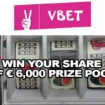 Vbet Casino Slot Tournament: Win Your Share of € 6,000 Prize Pool
