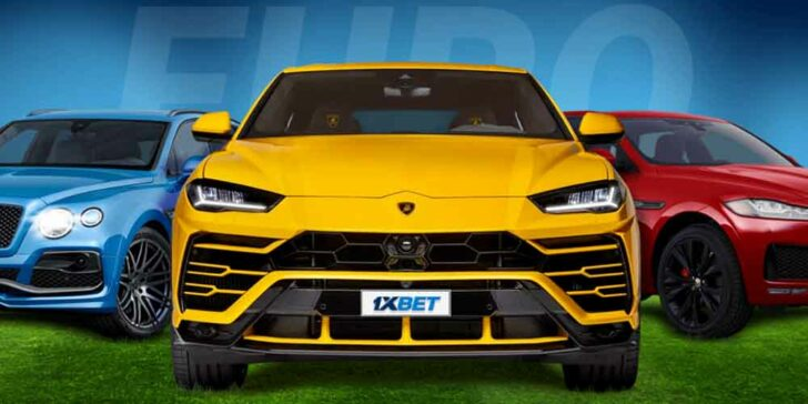 Win a Lamborghini on Euros With 1xbet Sportsbook Right Now