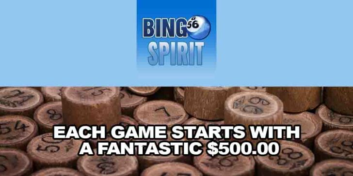 Best Bingo Promotion: Each Games Starts With a Fantastic $500.00