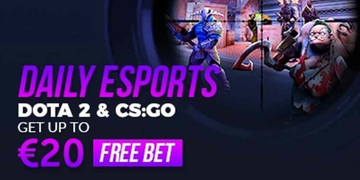 Esports free bet offer