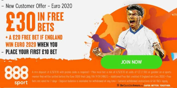 Euro 2020 Final Promo with 888sport