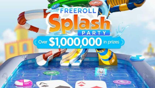 Freeroll Splash Party Online: Win Share of prize pool of Over $ 1,000,000