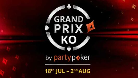 Partypoker Grand Prix Tournaments: Get Bounties for Every Single KO!