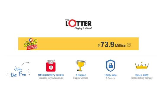 Play Philippines Grand Lotto 6/55 Online at Thelotter