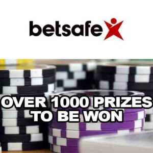 Betsafe Casino Giveaway Promotion: Over 1000 Prizes to Be Won