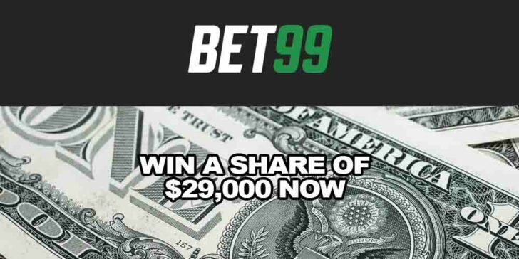 Bet99 Casino Epic Tournament: Win a Share of $29,000 Now