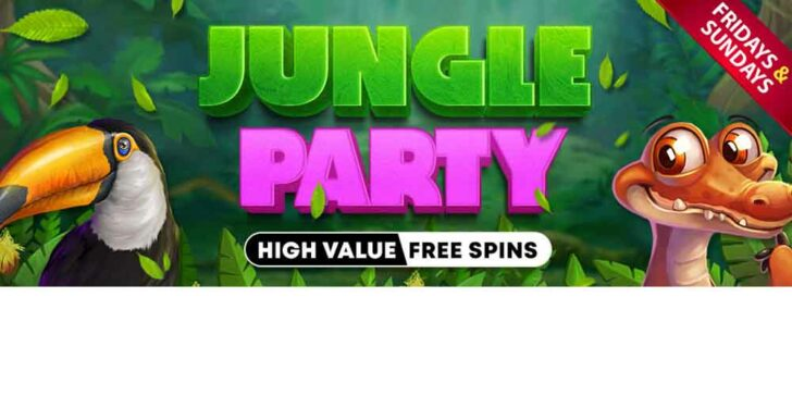 Jungle Party Free Spins: Deposit and Claim Your with Vegas Crest Casino