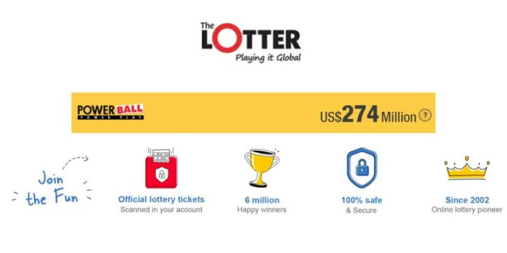 Powerball Lottery Prizes: Selecting Five Main Numbers and Win