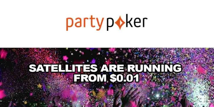 WPT Online Partypoker Tournament: Satellites Are Running from $0.01