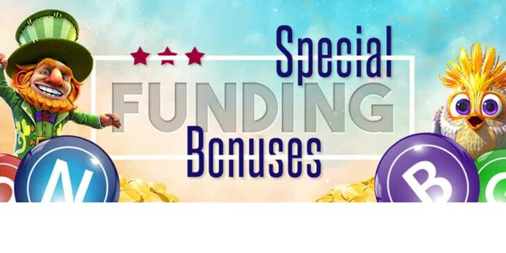 Special Funding Bonuses: Win Incredible Reload Bonuses Every Day