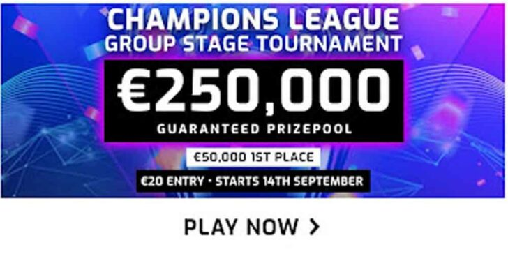 Play the €250K Fantasy Champions League Tournament Today