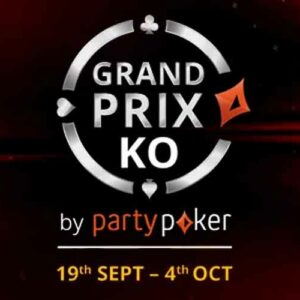 Grand Prix Ko at Partypoker With a $500k Gtd Main Event