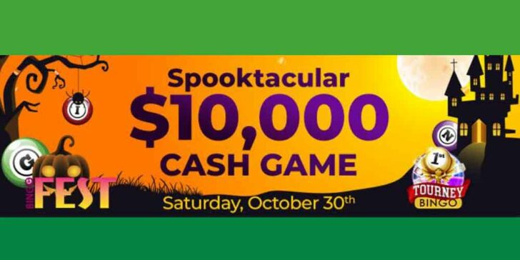 Halloween Promotion at Bingo Fest – Join and Win a $10,000 Prize