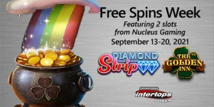 Intertops Poker Free Spins Week: Can Cash Out up to $250