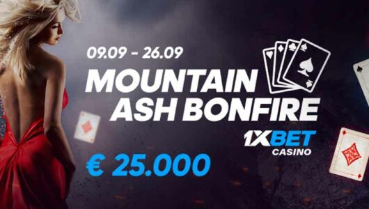 Mountain Ash Bonfire Promotion: Play and Win a Share of €25,000