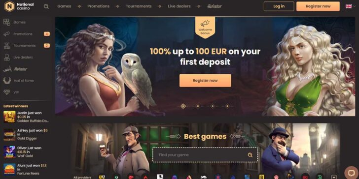 Review about National Casino